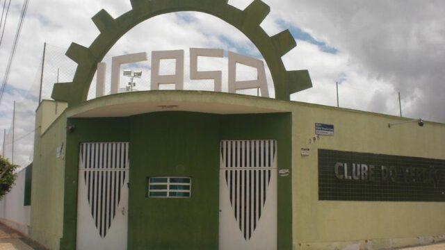 Sede do Icasa em Juazeiro do Norte, no interior do Ceará — Foto: Thaís Jorge/SVM