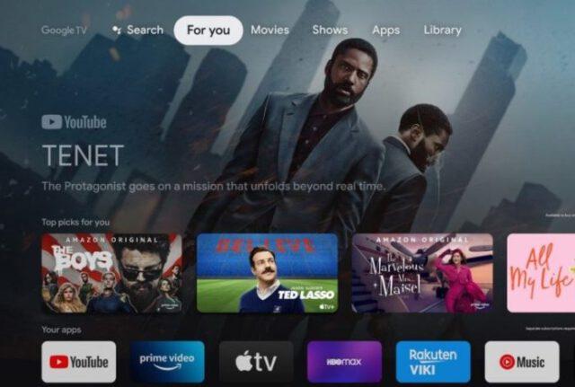 Google TV será integrado aos novos televisores da TCL (Crédito: Divulgação/Google)